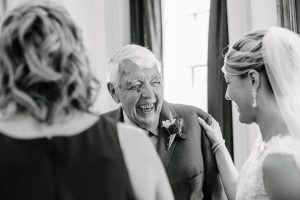 grandfather at wedding
